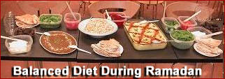 Diet During Ramadan article at PakiRecipes.com