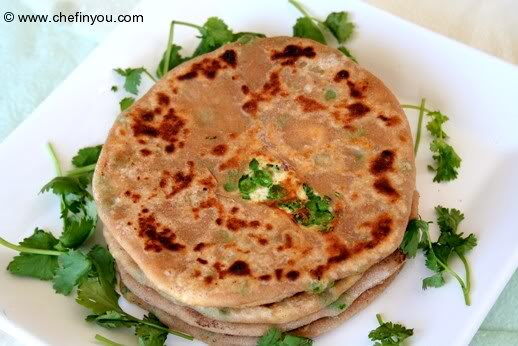 Paneer Paratha Special