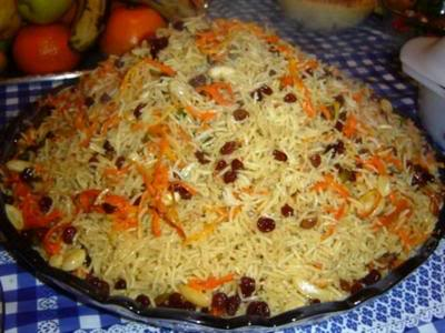 Kabli Pulao Recipe in Urdu http://www.pakirecipes.com/recipe/Kabli-Afghani-Pulao