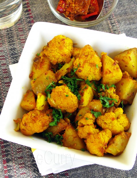 Cauliflower And Potato Masala recipe at PakiRecipes