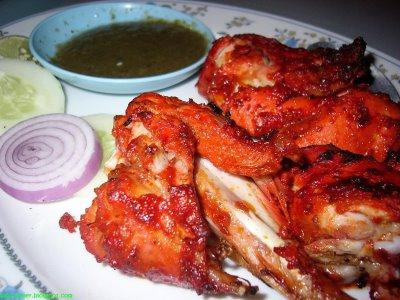 Simple chicken tandoori recipe