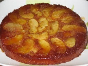 Apple Tatin Cake at PakiRecipes.com