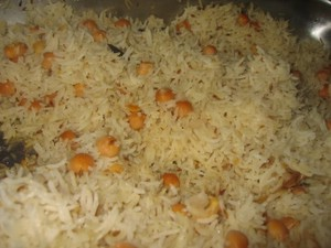 Channa(Chick Peas) Pulao at PakiRecipes.com