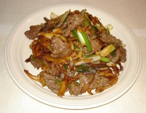 Chinese Beef And Chillies at PakiRecipes.com