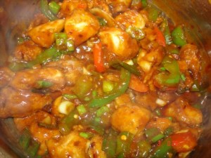 Chinese Chili Chicken at PakiRecipes.com