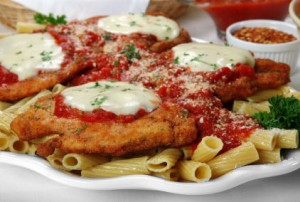 Seasoned Chicken Parmesan