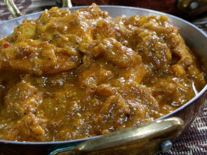 Hara Masala Chicken at PakiRecipes.com