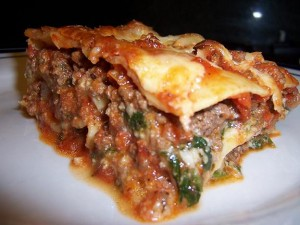Spinach Lasagna at PakiRecipes.com