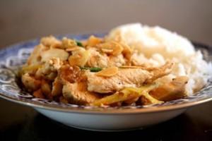 Peanut Ginger Chicken at PakiRecipes.com