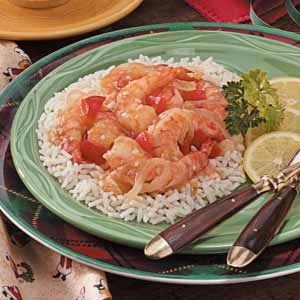 Texas Lemon Shrimp at PakiRecipes.com