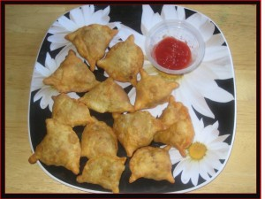 Veggie Samosas at PakiRecipes.com