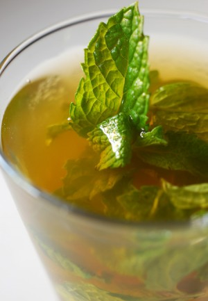 Green Tea With Mint at PakiRecipes.com