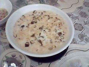 Basic Sheer Khurma Recipe