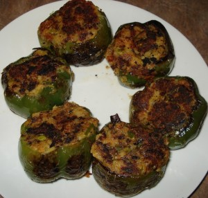 Stuffed Bell Peppers at PakiRecipes.com
