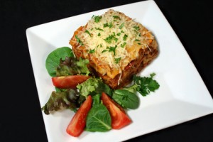 Eggplant Lasagna With Ricotta/parmesan Cheese