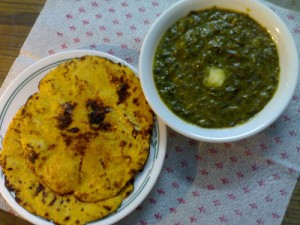 Sarson Ka Saag (Mustard Greens) at PakiRecipes.com