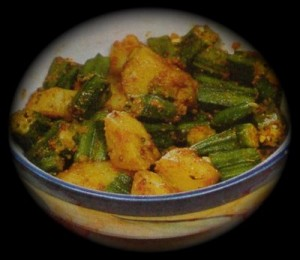 Masala Bhindi at PakiRecipes.com
