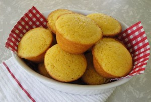 Honey Corn Bread Muffins at PakiRecipes.com