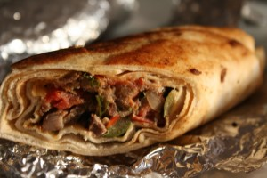 Shawarma Wrap at PakiRecipes.com