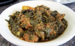 Palak Gosht at PakiRecipes.com