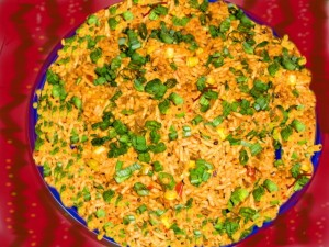 Chicken Masala Rice at PakiRecipes.com