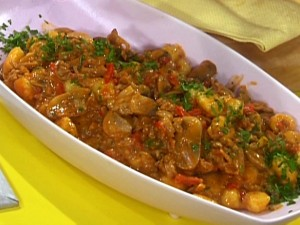 Chicken And Mushroom In Red Sauce at PakiRecipes.com