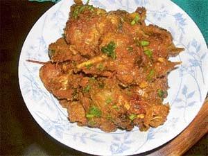 Hara Masala Bhuna Gosht at PakiRecipes.com