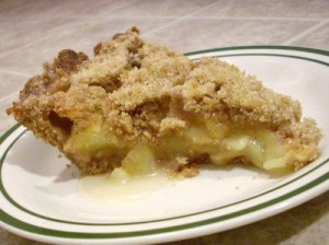 Apple Crumble (Pie) at PakiRecipes.com