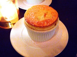 Chilled Pineapple Souffle