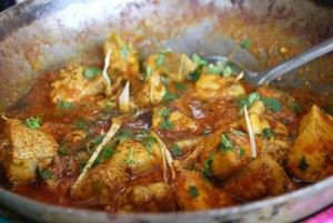 Easy Chicken Karahi at PakiRecipes.com