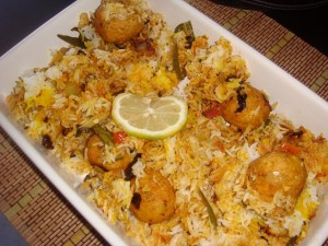 Easy Kofta Biryani recipe