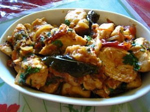 Sabat Masala Chicken at PakiRecipes.com