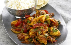 Chicken Karahi With Capsicum at PakiRecipes.com