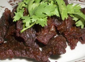 Dry Beef Chilli at PakiRecipes.com