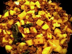 Aloo Qeema at PakiRecipes.com