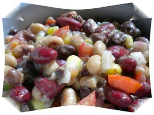 Southwestern Style Black Bean Salad at PakiRecipes.com