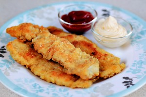 Crispy Chicken Fingers at PakiRecipes.com