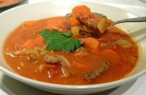 Mutton With Tomatoes