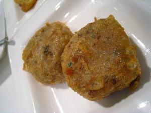 Potato Cutlets In Bread Crumbs