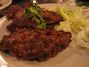 Chapli Kebab at PakiRecipes.com