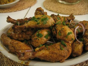 Savory Chicken Tikka recipe