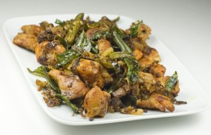 Dry Chicken Chilli at PakiRecipes.com