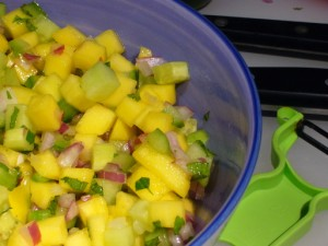 Cucumber And Mango Salsa Recipe at PakiRecipes.com