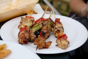 Chicken And Vegetable Kebabs at PakiRecipes.com