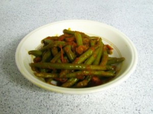 Green Beans Sabzi at PakiRecipes.com