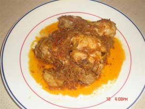 Tasty Karahi Chicken at PakiRecipes.com