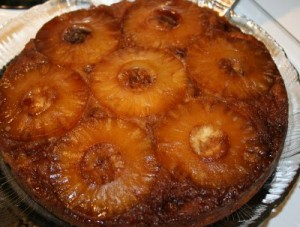 Pineapple Upside Down Cake at PakiRecipes.com