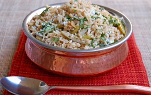 Spicy Qeema Pulao at PakiRecipes.com