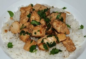 Black Pepper Chicken at PakiRecipes.com