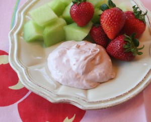 Fruit Flavoured Creamy Yogurt at PakiRecipes.com